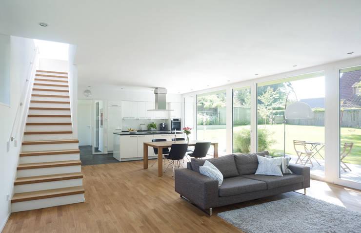 Projekty,  Salon zaprojektowane przez Justus Mayser Architekt