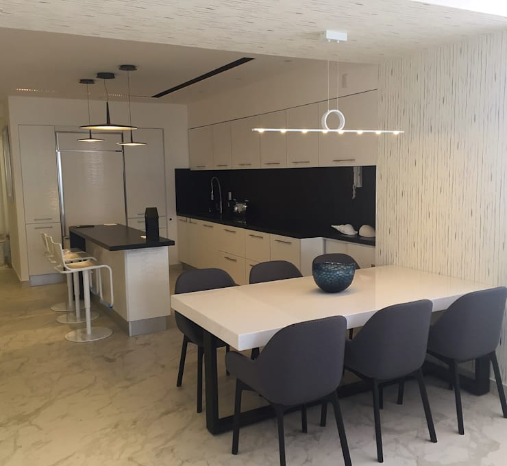 modern Dining room by DECO designers