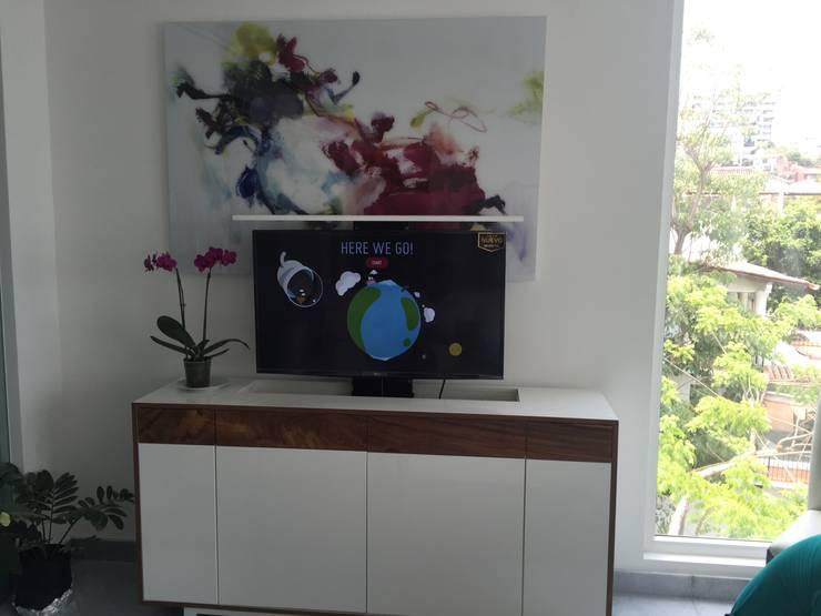 D'Terrace 805 Unit : Salas de estilo  por DECO designers