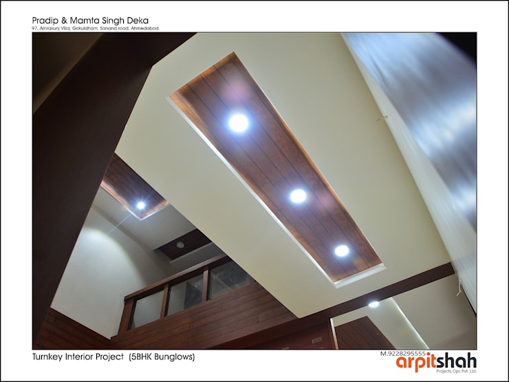 Pradipbhai Deka@Gokuldham: modern  by ARPIT SHAH PROJECTS OPC PVT LTD.,Modern