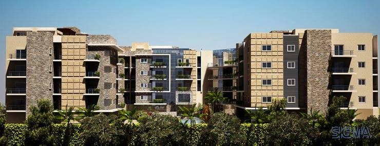 Jirano Residential Complex:  منازل تنفيذ SIGMA Designs