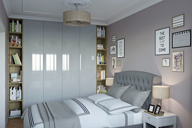 eclectic Bedroom by tim-gabriel