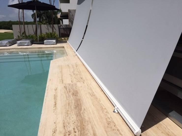 Casa Caimán : Jardín de estilo  por Sundec