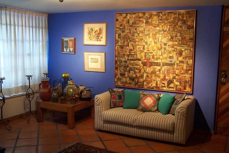 Estar Familiar: Salas de estilo  por Bojorquez Arquitectos SA de CV