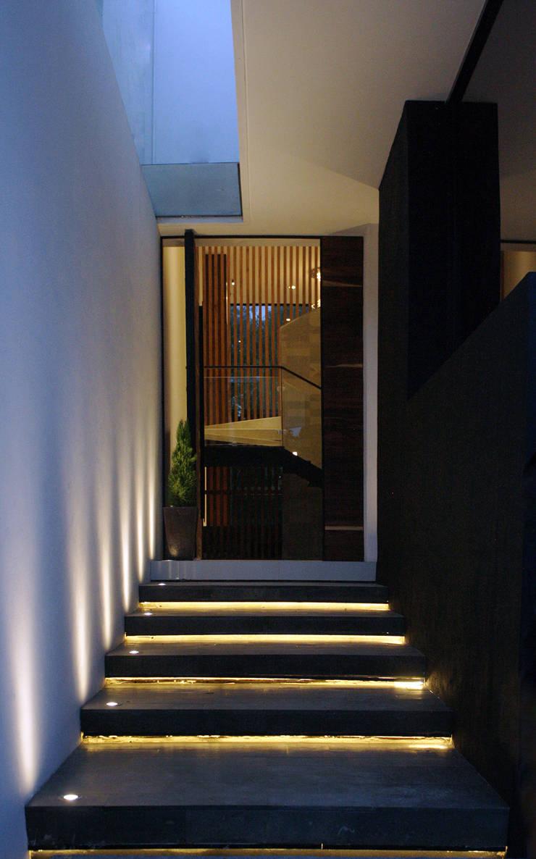Häuser von BAG arquitectura, Modern Ziegel