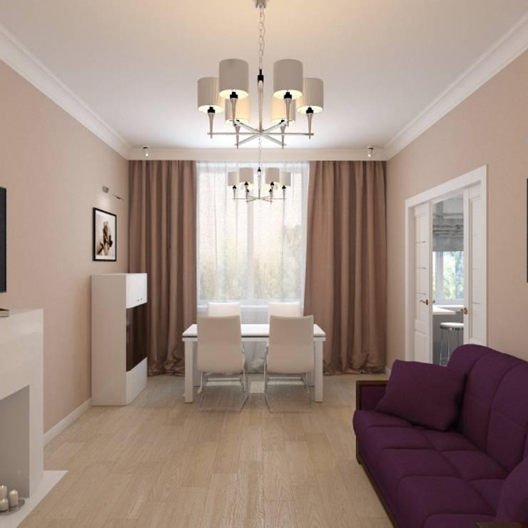 modern Living room by ArtBuro365