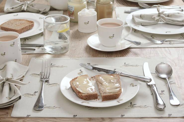 Sophie Allport Hare Tableware:  Kitchen by Sophie Allport