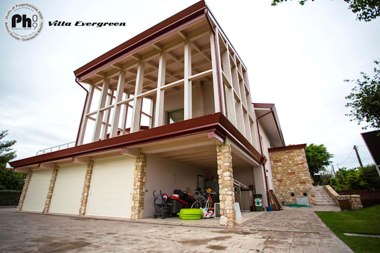 Casas de estilo moderno por Studio Ph09 (progress house)