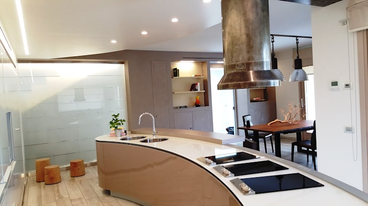 Kitchen by Studio Ph09 (progress house)