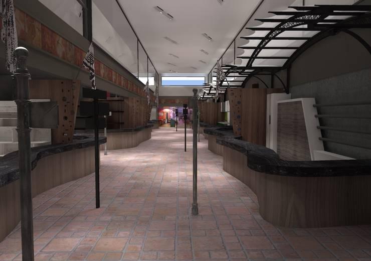 Mercado Interlomas: Espacios comerciales de estilo  por Arq. Jacobo Smeke