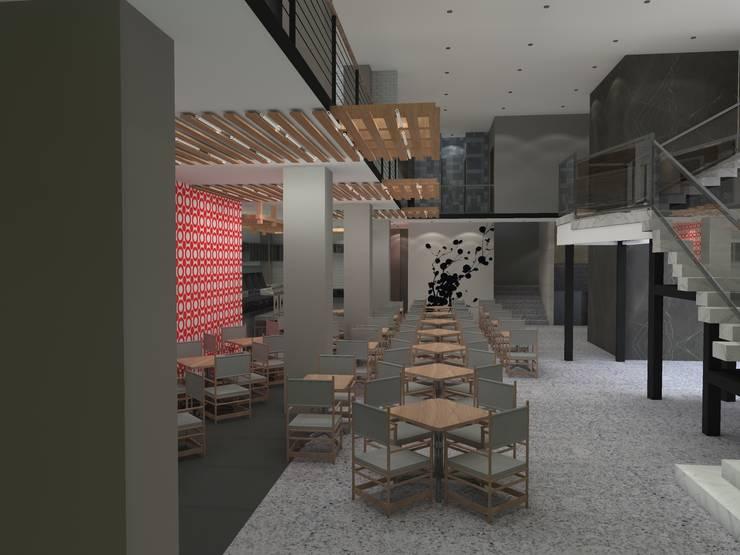 Sushi Itto Masaryk: Restaurantes de estilo  por Arq. Jacobo Smeke
