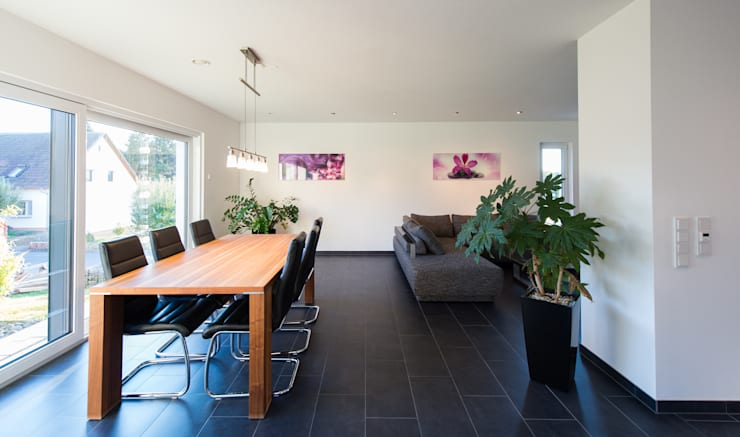 Dining room by herbertarchitekten Partnerschaft mbB