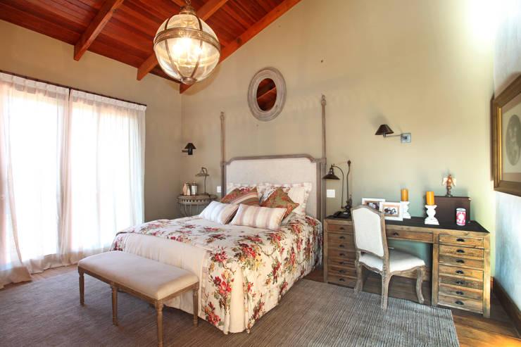 landelijke Slaapkamer door Célia Orlandi por Ato em Arte