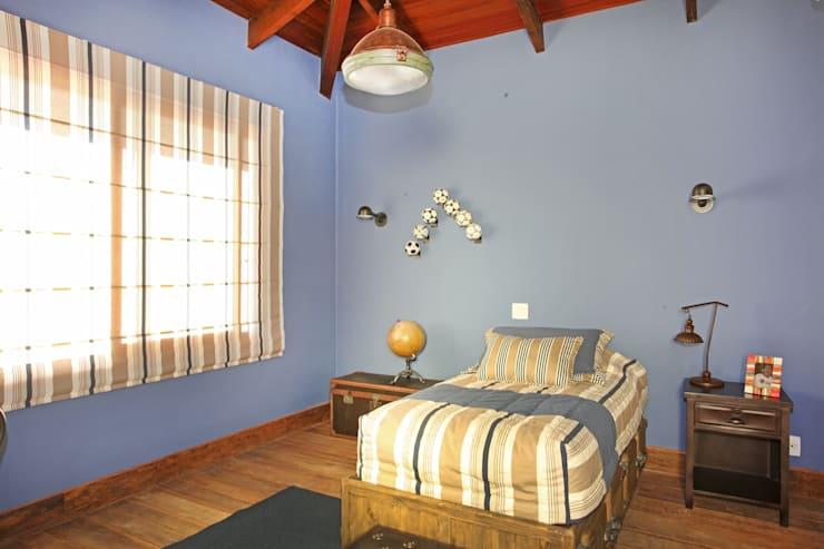 Bedroom by Célia Orlandi por Ato em Arte