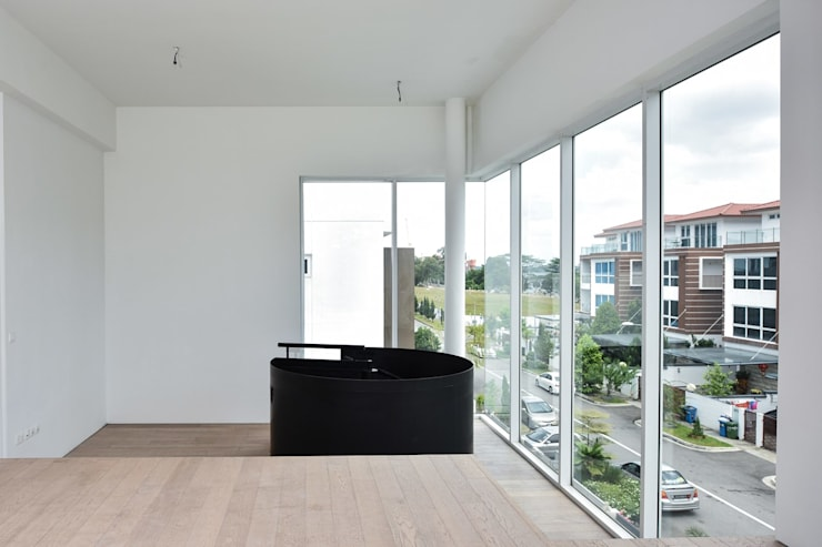 Study/office by Sen's Photographyたてもの写真工房すえひろ, Modern