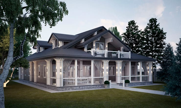 Casas de estilo clásico de Way-Project Architecture & Design Clásico