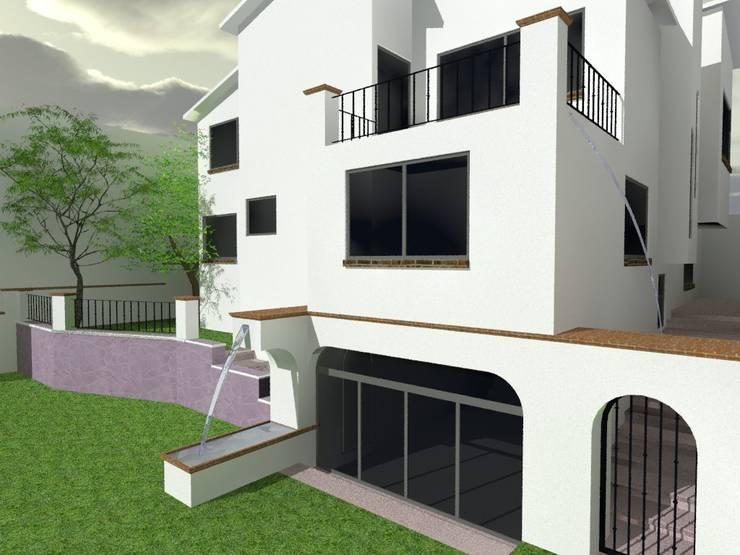 4:  de estilo  por Grupo Puente Arquitectos.com