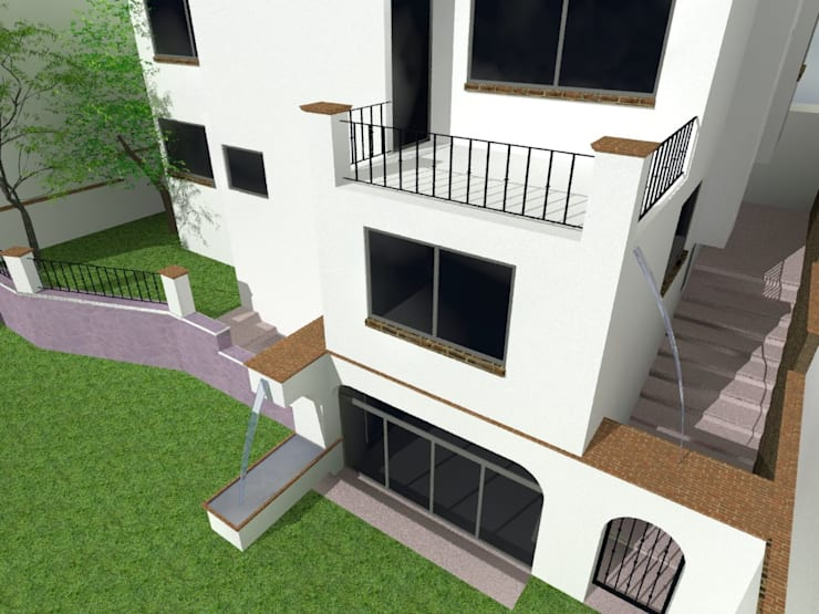 5:  de estilo  por Grupo Puente Arquitectos.com