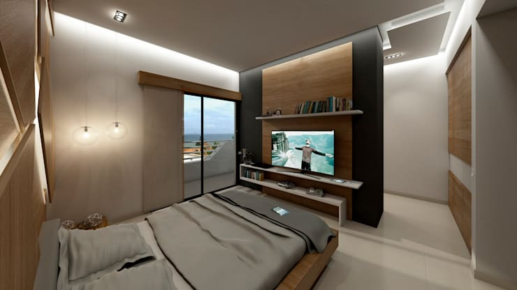NOGARQ C.A.が手掛けた寝室