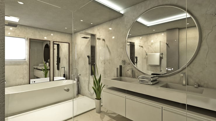Baños de estilo  de NOGARQ C.A.