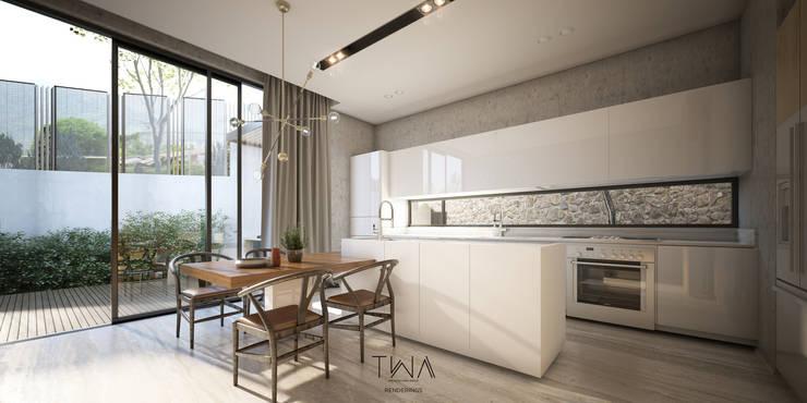 Cocina: Cocinas de estilo  por TW/A Architectural Group