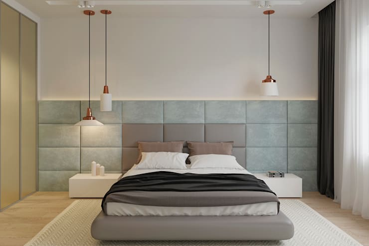 Projekty,  Sypialnia zaprojektowane przez Espace Team