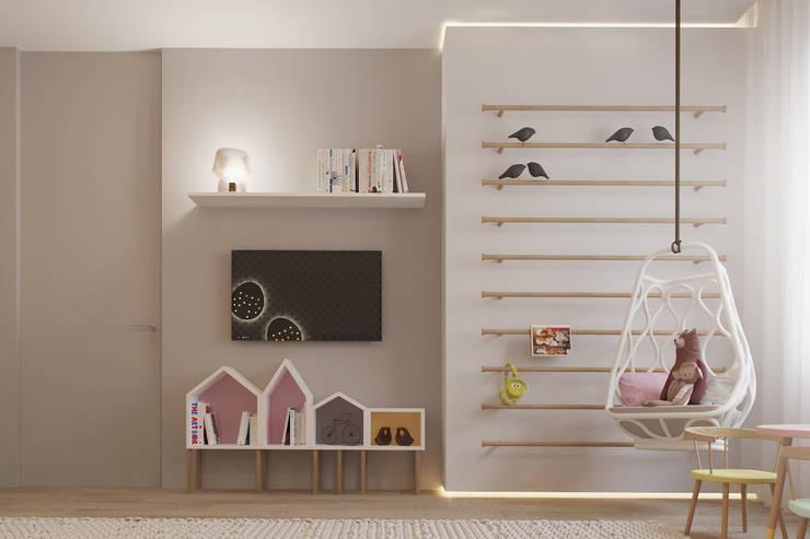 Projekty,  Pokój dziecięcy zaprojektowane przez Espace Team