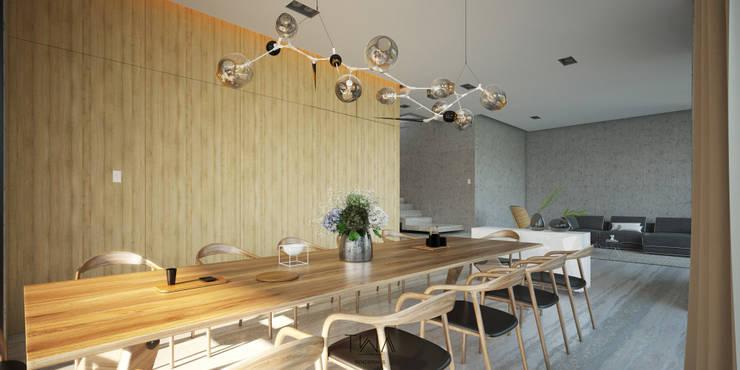Estancia: Comedores de estilo  por TW/A Architectural Group