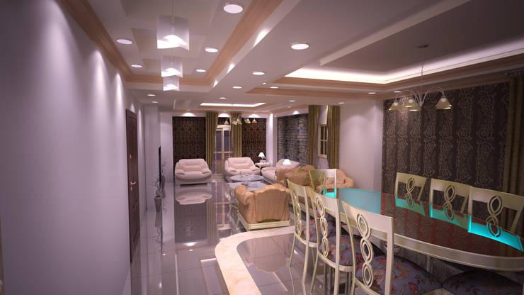 Modern walls & floors by Reda Essam Modern