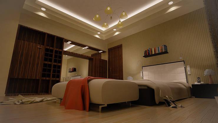 Projekty,  Sypialnia zaprojektowane przez Reda Essam