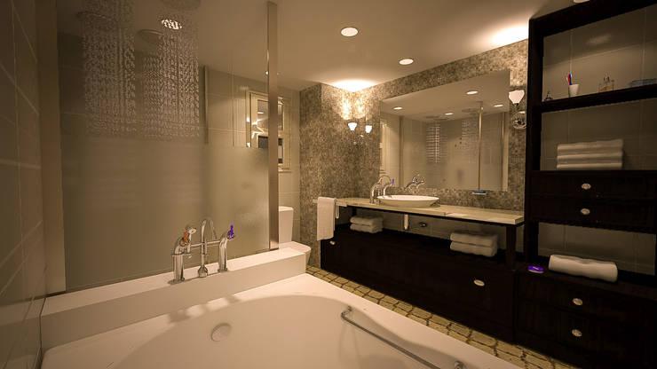 Projekty,  Łazienka zaprojektowane przez Reda Essam