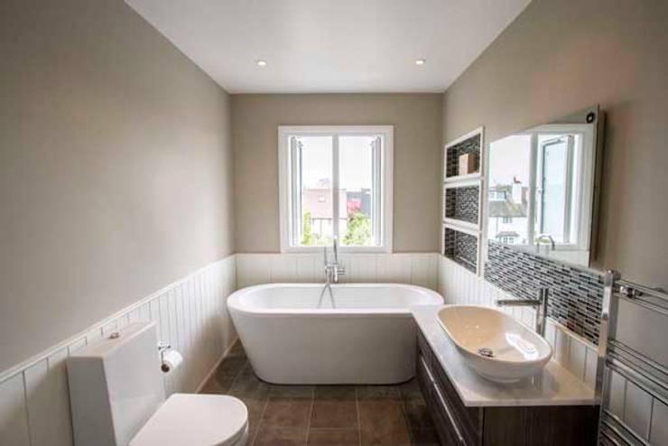 Bathroom by Cube Lofts