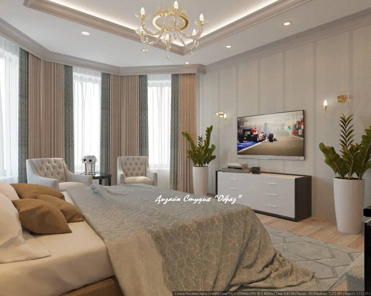 Bedroom by Дизайн Студия 'Образ'