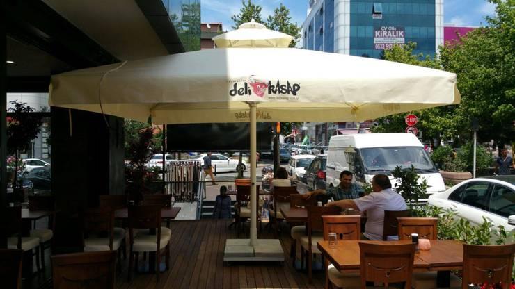 Akaydın şemsiye – Cafe Şemsiyesi:  tarz Bahçe, Akdeniz Aluminyum/Çinko