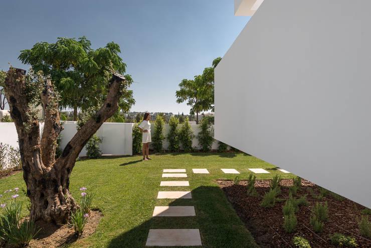 Cinco Terraços e um Jardim: Jardins  por Corpo Atelier
