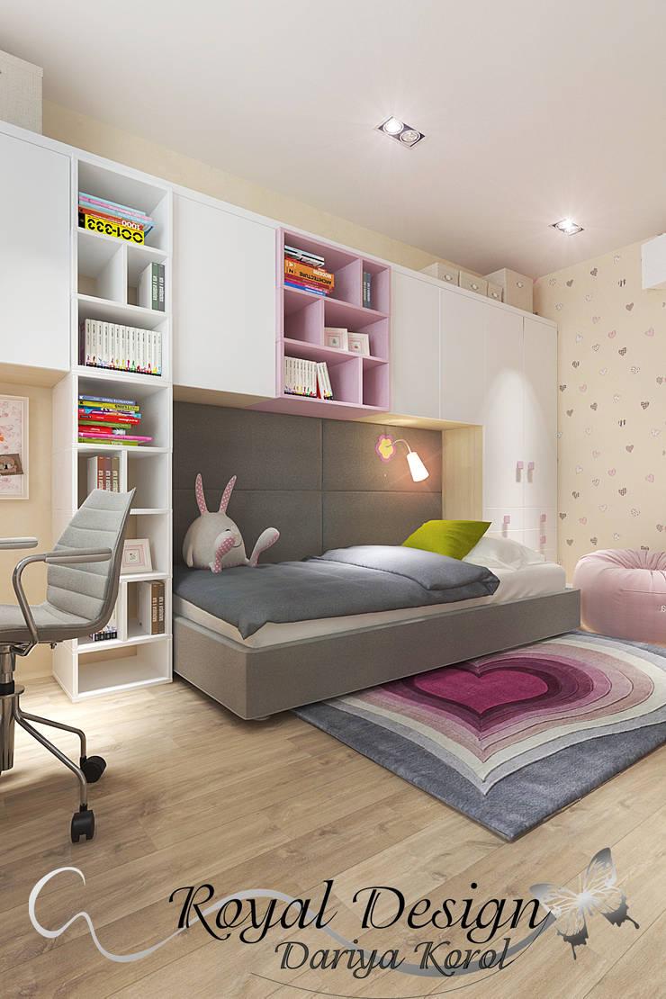 Nursery/kid's room by Your royal design, Minimalist