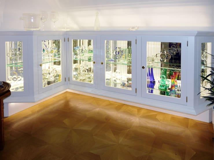 Living room by Reinhard Rotthaus