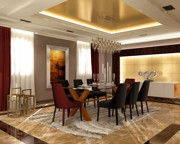modern Dining room by THE Studio