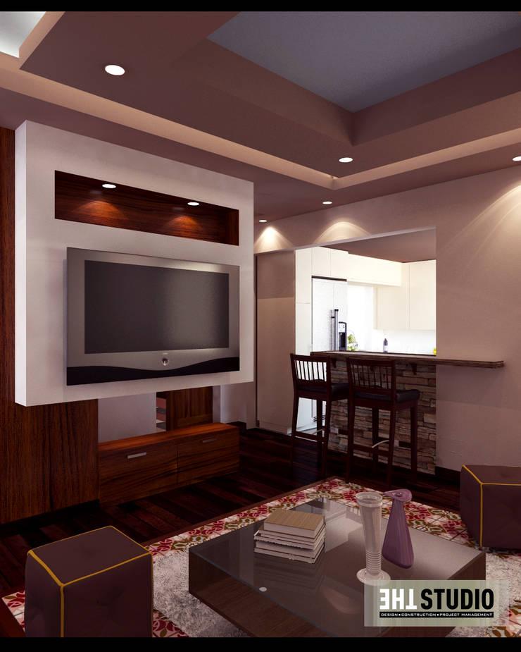 mediterranean Living room by THE Studio