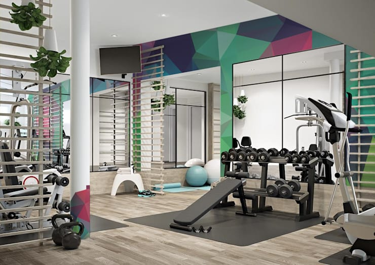 Gym by Pixers