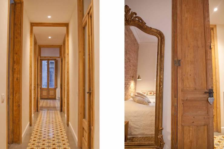 Corridor & hallway by Brick construcció i disseny