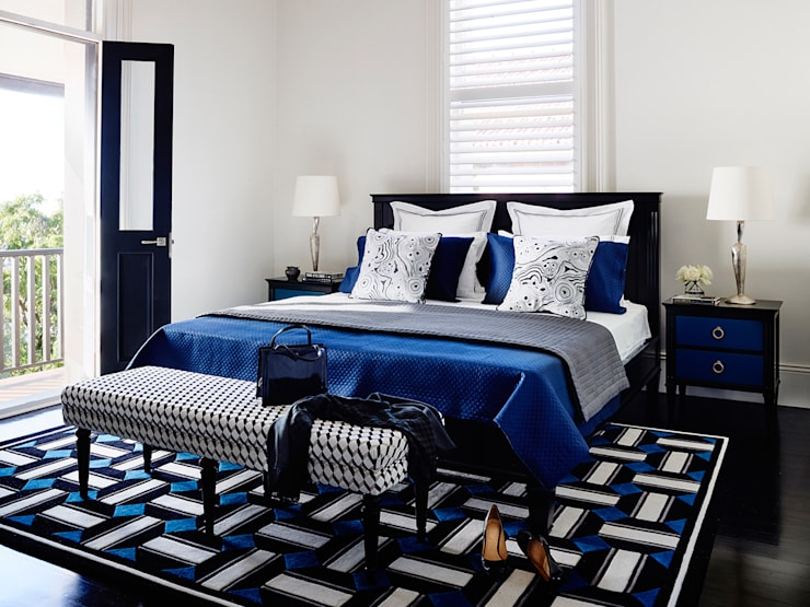 Dormitorios de estilo  por Grange México