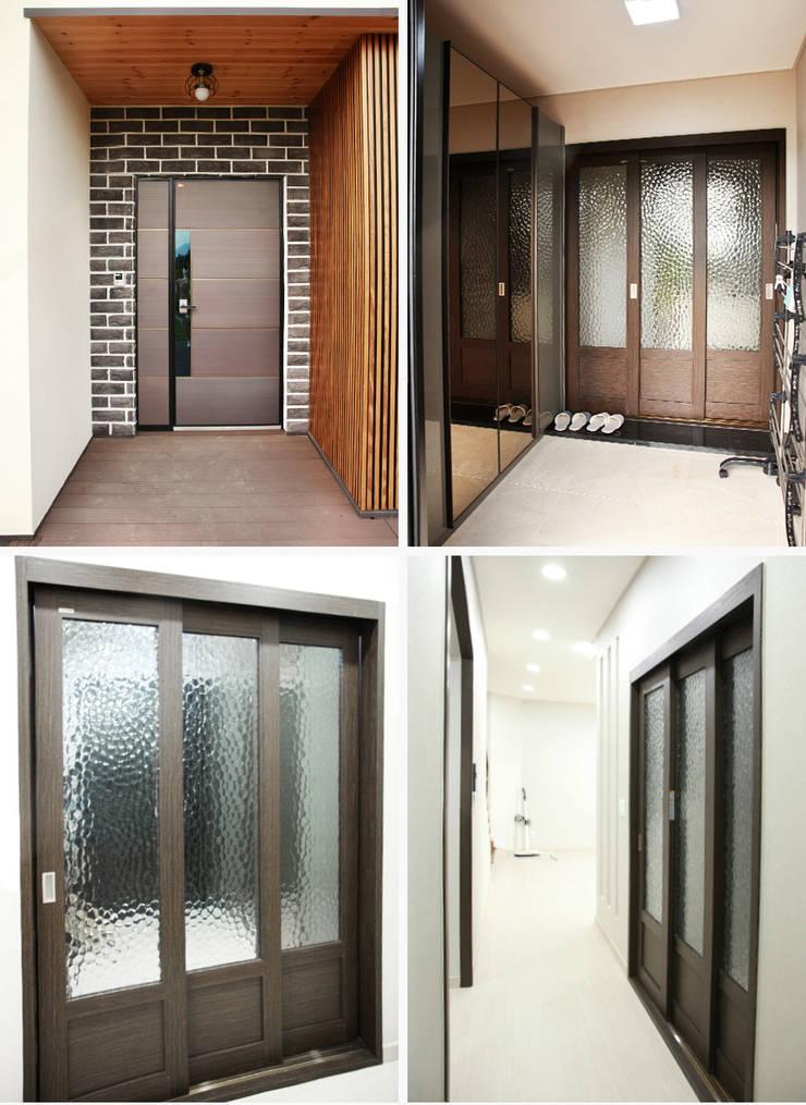 Corridor & hallway by 지성하우징,