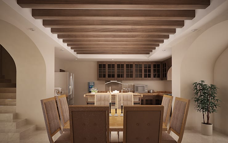 Dining room by Gestec