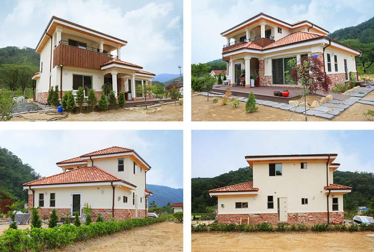 mediterranean Houses by 지성하우징