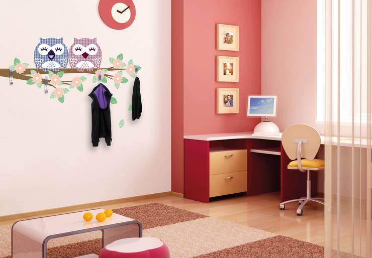 de estilo  por K&L Wall Art, Moderno Sintético Marrón