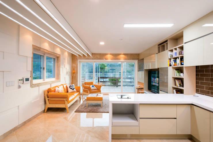 연수리 4호: 친친디 하우스 프로젝트의  주방