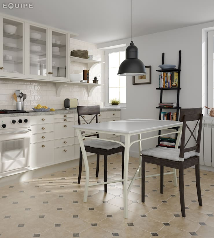 Dining room by Equipe Ceramicas, Classic