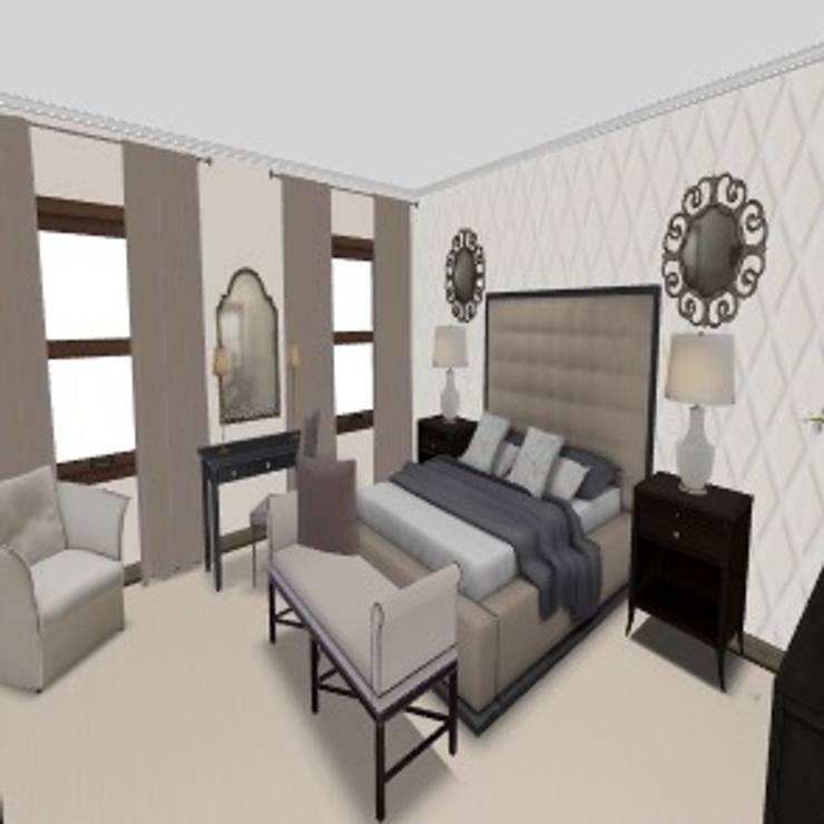Main Bedroom Dainfern:   by CKW Lifestyle Associates PTY Ltd
