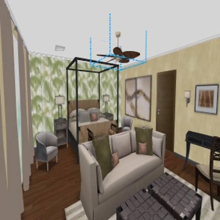 Main Bedroom Zimbali Estate:   by CKW Lifestyle Associates PTY Ltd